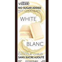 Gourmet du Village White Chocolate No Sugar Added Hot Chocolate