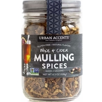 Urban Accents Wine & Cider Mulling Spice 4.5 oz Glass Jar