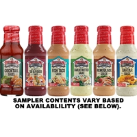 Louisiana Fish Fry Sauce Sampler