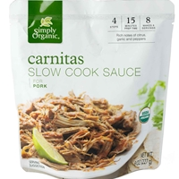 Simply Organic Carnitas Slow Cook Sauce