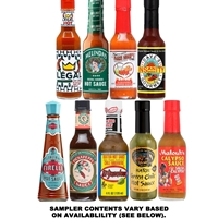 Around the World Hot Sauce Sampler