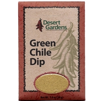 Desert Gardens Green Chile Dip Mix